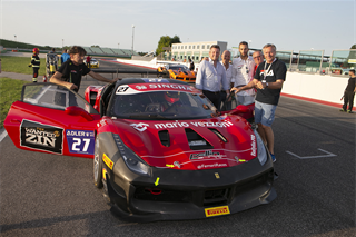 This year THE WANTED WINES teamed up with FERRARI and was one of the sponsors for THE FERRARI CHALLENGE